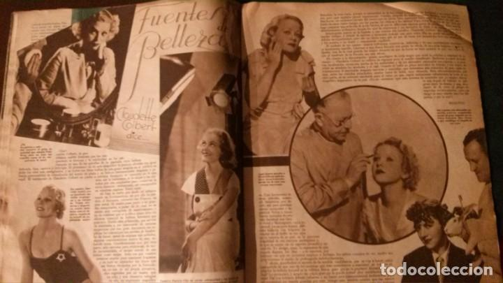 Cine: REVISTA CINEGRAMAS Nº 34-1935-MADELEINE CARROLL-DOLORES DEL RIO - Foto 8 - 134440910
