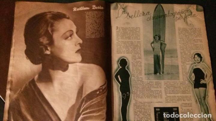 Cine: REVISTA CINEGRAMAS Nº 34-1935-MADELEINE CARROLL-DOLORES DEL RIO - Foto 9 - 134440910