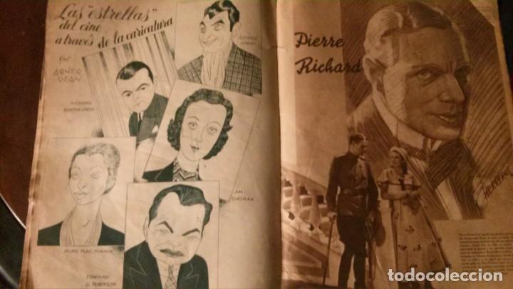 Cine: REVISTA CINEGRAMAS Nº 34-1935-MADELEINE CARROLL-DOLORES DEL RIO - Foto 11 - 134440910