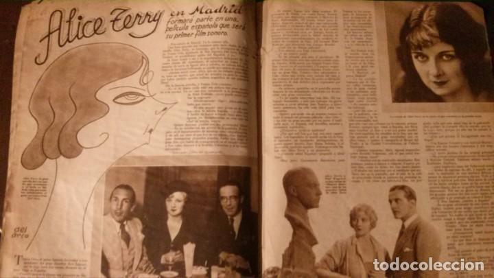 Cine: REVISTA CINEGRAMAS Nº 34-1935-MADELEINE CARROLL-DOLORES DEL RIO - Foto 12 - 134440910