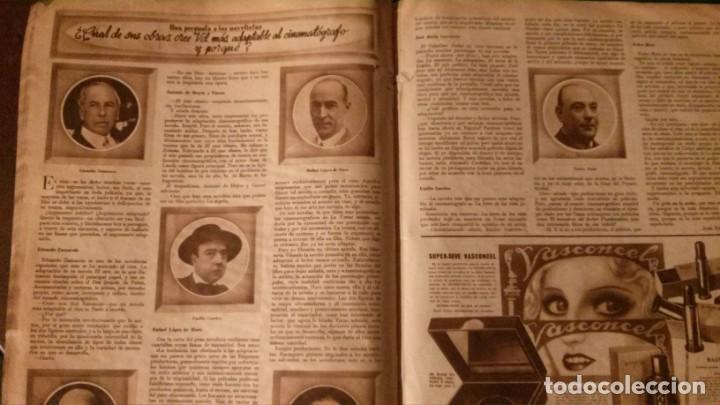 Cine: REVISTA CINEGRAMAS Nº 34-1935-MADELEINE CARROLL-DOLORES DEL RIO - Foto 13 - 134440910