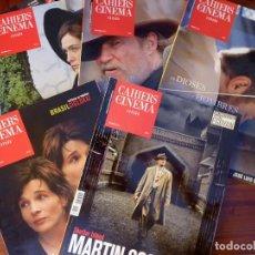 Cine: L-5129. . LOTE DE CINCO REVISTAS CAHIERS DE CINEMA. ESPAÑA. 2010-2011.. Lote 134656950