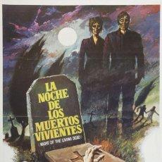 Cinema: LA NOCHE DE LOS MUERTOS VIVIENTES. Lote 134855406
