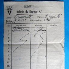 Cine: BOLETÍN DE REPASO. PELÍCULA CENICIENTA. RKO FILMS, 1951.. Lote 135097806