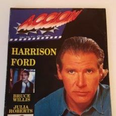 Cinema: REVISTA ACCION Nº 7 AÑO 1 - HARRISON FORD. Lote 135235742