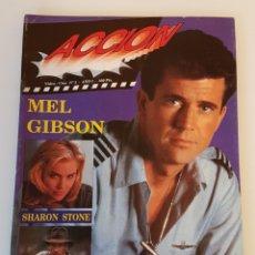 Cinema: REVISTA ACCION AÑO 1 NÚMERO 3 -MEL GIBSON. Lote 135237142