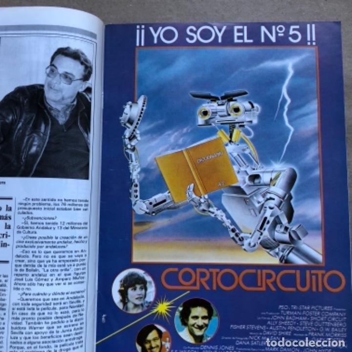 Cine: REVISTA CINE ASESORN°693 (1986). GUÍAS DE CORTOCIRCUITO, DENTRO DEL LABERINTO,..ENTREVISTA ALMODÓVAR - Foto 2 - 135242046
