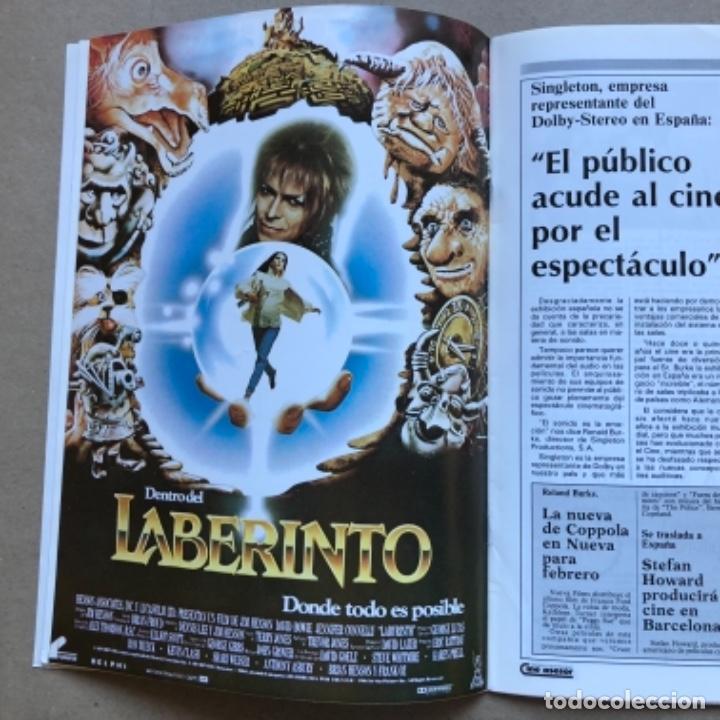Cine: REVISTA CINE ASESORN°693 (1986). GUÍAS DE CORTOCIRCUITO, DENTRO DEL LABERINTO,..ENTREVISTA ALMODÓVAR - Foto 3 - 135242046