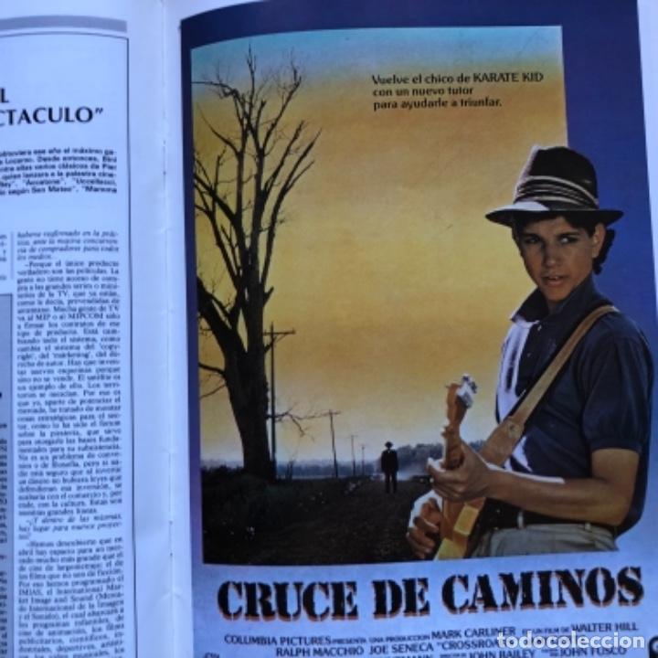 Cine: REVISTA CINE ASESORN°693 (1986). GUÍAS DE CORTOCIRCUITO, DENTRO DEL LABERINTO,..ENTREVISTA ALMODÓVAR - Foto 4 - 135242046