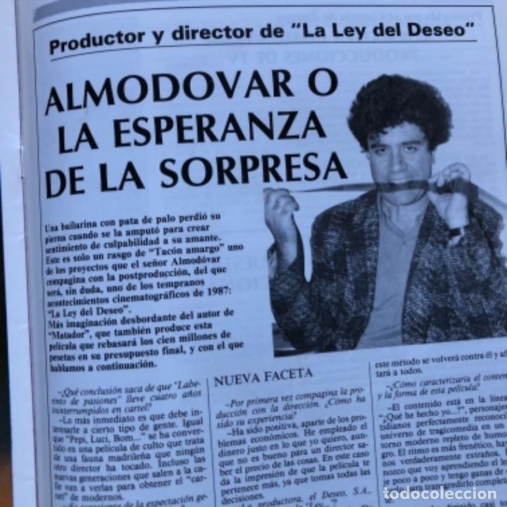 Cine: REVISTA CINE ASESORN°693 (1986). GUÍAS DE CORTOCIRCUITO, DENTRO DEL LABERINTO,..ENTREVISTA ALMODÓVAR - Foto 6 - 135242046