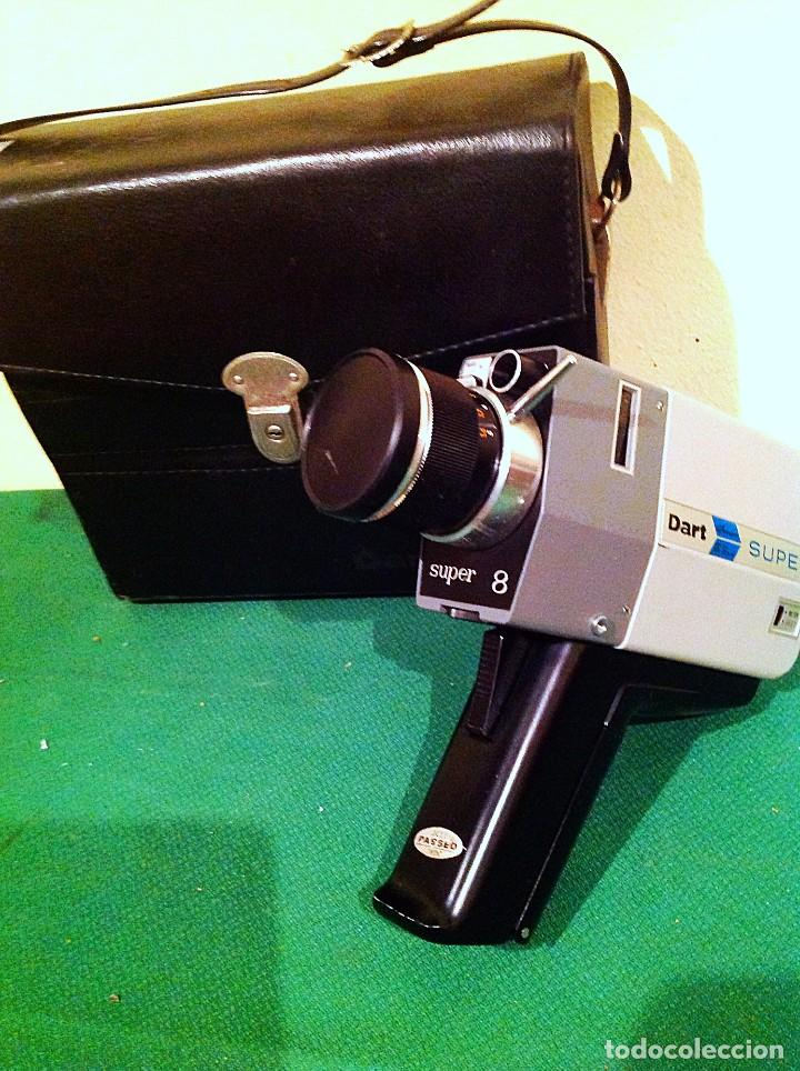 Cine: Camara Dart Chinon Electric Motor Drive Super 8 Zoom Movie Funciona - Foto 2 - 135253438