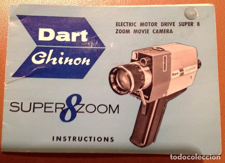 Cine: Camara Dart Chinon Electric Motor Drive Super 8 Zoom Movie Funciona - Foto 3 - 135253438