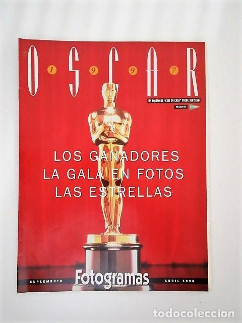 OSCAR 1997, SUPLEMENTO ABRIL 1998 (Cine - Revistas - Fotogramas)