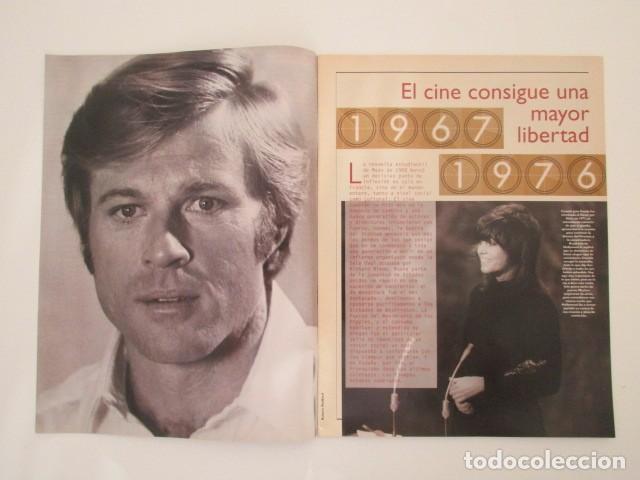 Cine: LOTE 3 SUPLEMENTOS DEL LIBRO DE ORO DE LOS 50 AÑOS DE CINE, VER FOTOS - Foto 7 - 135279506