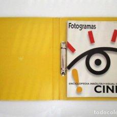 Cine: FOTOGRAMAS, ENCICLOPEDIA INSÓLITA Y VISUAL DEL CINE. Lote 135279658