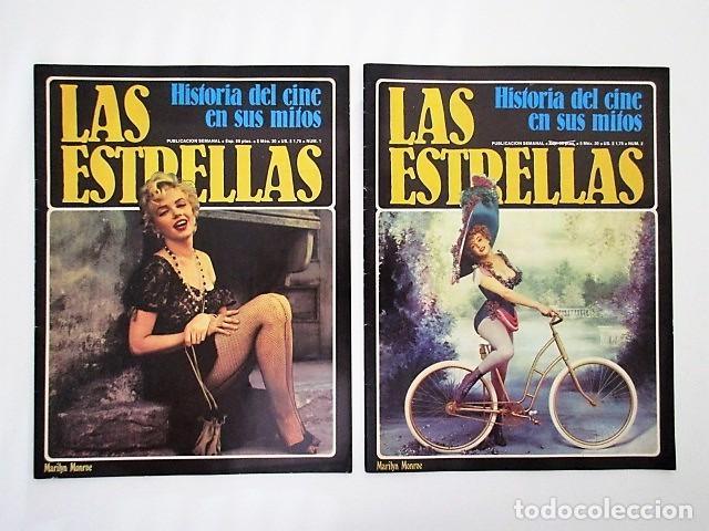 MARILYN MONROE, LOS DOS NÚMEROS DE LA HISTORIA DEL CINE EN SUS MITOS DEDICADOS A LA ACTRIZ (Cine - Revistas - Otros)