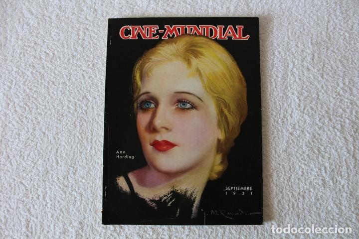 REVISTA CINE MUNDIAL. VOL XVI Nº 9 SEPTIEMBRE 1931 - PORTADA: ANN HARDING (Cine - Revistas - Cine Mundial)
