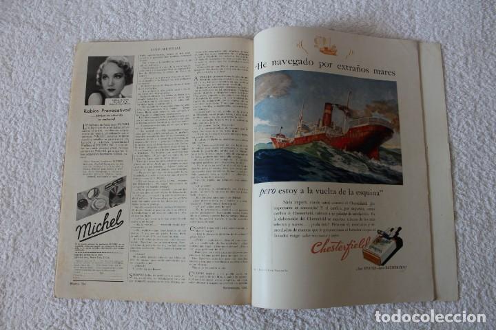 Cine: REVISTA CINE MUNDIAL. VOL XVI Nº 9 SEPTIEMBRE 1931 - PORTADA: ANN HARDING - Foto 6 - 152132616