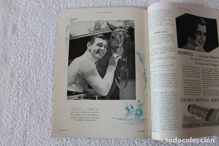 Cine: REVISTA CINE MUNDIAL. VOL XVI Nº 9 SEPTIEMBRE 1931 - PORTADA: ANN HARDING - Foto 7 - 152132616