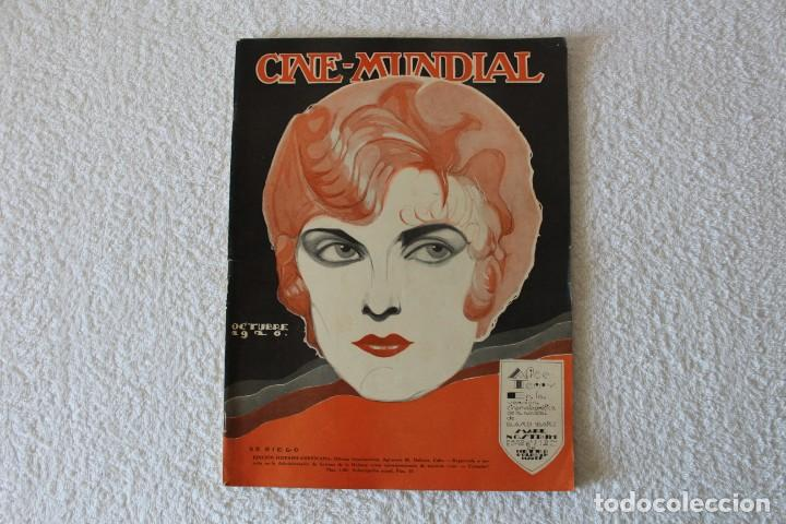 REVISTA CINE MUNDIAL. VOL XI Nº 10 OCTUBRE 1926 - PORTADA: ALICE TERRY (Cine - Revistas - Cine Mundial)