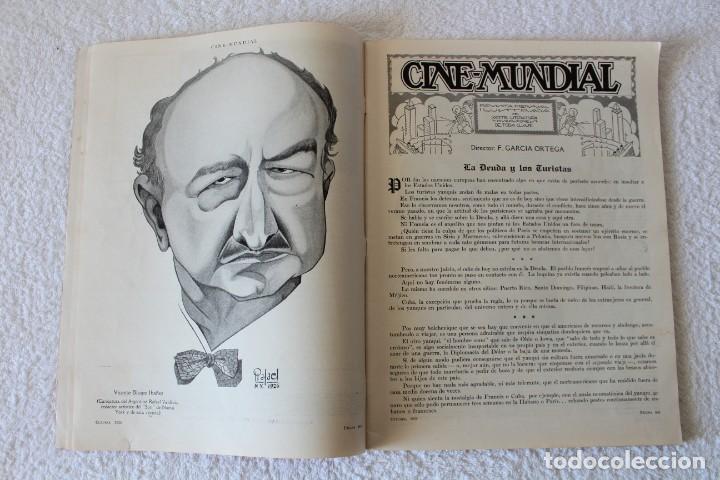 Cine: REVISTA CINE MUNDIAL. VOL XI Nº 10 OCTUBRE 1926 - PORTADA: ALICE TERRY - Foto 3 - 135333290