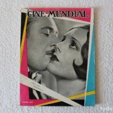 Cine: REVISTA CINE MUNDIAL. VOL XIII Nº 8 AGOSTO 1928 - PORTADA: MARY ASTOR Y EDMUND LOWE. Lote 135335614