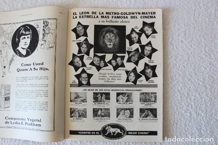 Cine: REVISTA CINE MUNDIAL. VOL XIII Nº 8 AGOSTO 1928 - PORTADA: MARY ASTOR y EDMUND LOWE - Foto 3 - 135335614