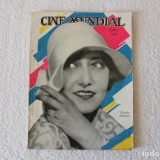 Cine: REVISTA CINE MUNDIAL. VOL XIII Nº 9 SEPTIEMBRE 1928 - PORTADA: DOROTHY SEBASTIAN. Lote 135336322