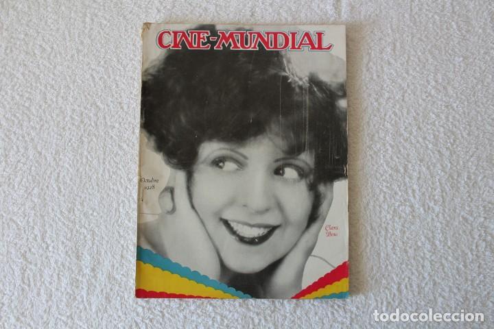 REVISTA CINE MUNDIAL. VOL XIII Nº 10 OCTUBRE 1928 - PORTADA: CLARA BOW (Cine - Revistas - Cine Mundial)