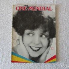 Cine: REVISTA CINE MUNDIAL. VOL XIII Nº 10 OCTUBRE 1928 - PORTADA: CLARA BOW. Lote 152132713