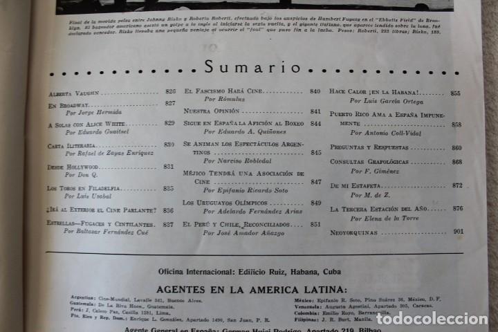 Cine: REVISTA CINE MUNDIAL. VOL XIII Nº 10 OCTUBRE 1928 - PORTADA: CLARA BOW - Foto 2 - 152132713
