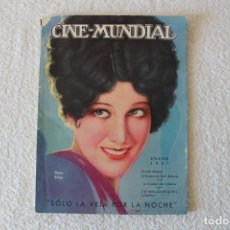Cine: REVISTA CINE MUNDIAL. VOL XVI Nº 1 ENERO 1931 - PORTADA: MARY BRIAN. Lote 135339282