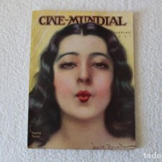Cinema: REVISTA CINE MUNDIAL. VOL XVI Nº 2 FEBRERO 1931 - PORTADA: LUPITA TOVAR. Lote 135339566