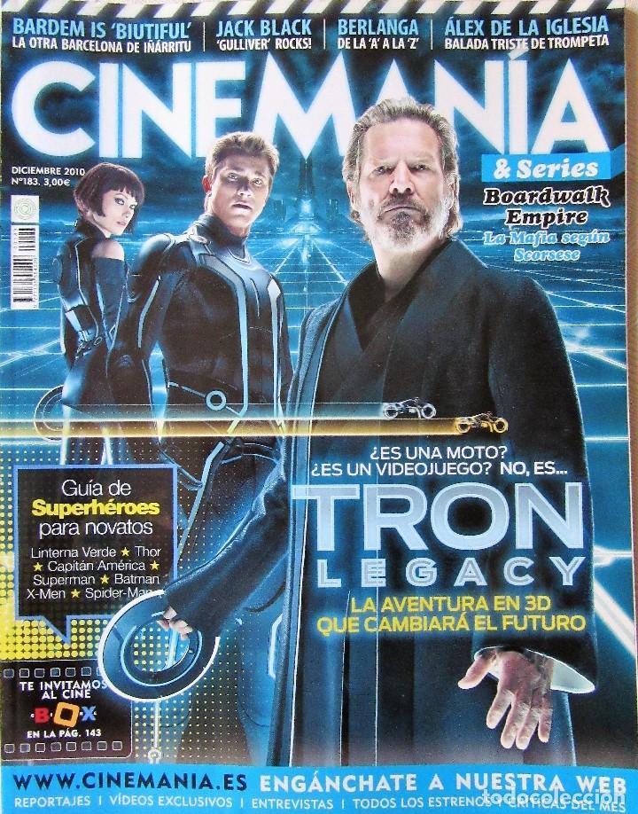 CINEMANÍA 183 (Cine - Revistas - Cinemanía)