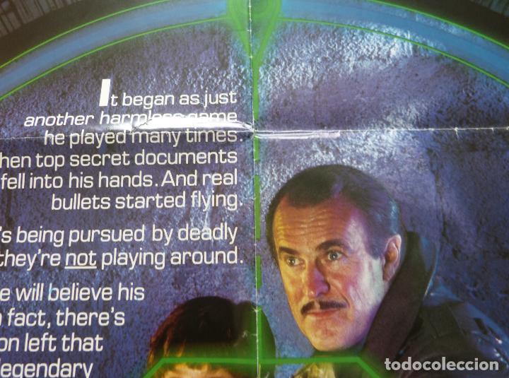 Cine: Póster Original de la película Cloak & Dag Ger, Doblado, 27 x 41, USA, 1984 - Foto 3 - 135350770
