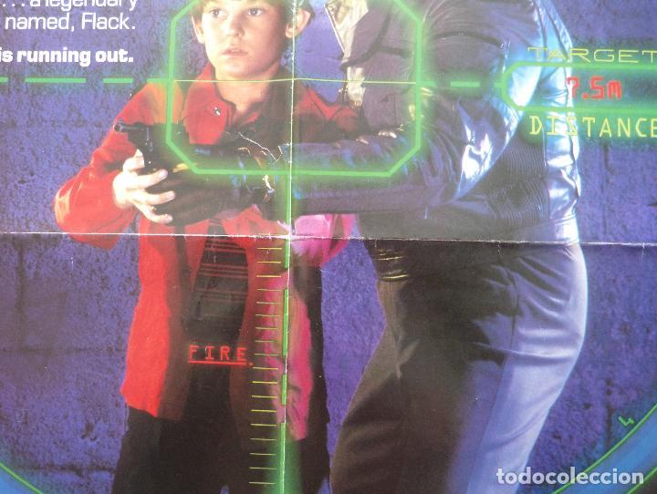 Cine: Póster Original de la película Cloak & Dag Ger, Doblado, 27 x 41, USA, 1984 - Foto 4 - 135350770