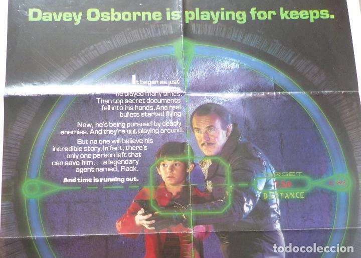 Cine: Póster Original de la película Cloak & Dag Ger, Doblado, 27 x 41, USA, 1984 - Foto 8 - 135350770