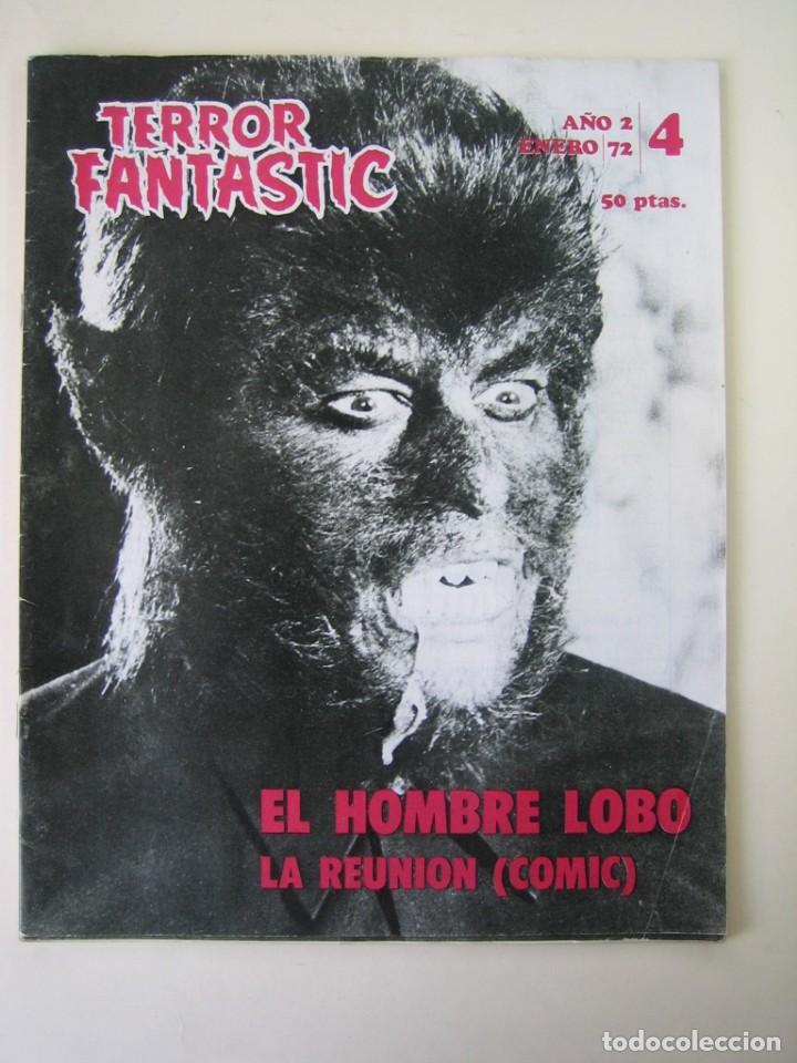 TERROR FANTASTIC (1971, PEDRO YOLDI) 4 · I-1972 · TERROR FANTASTIC (Cine - Revistas - Otros)