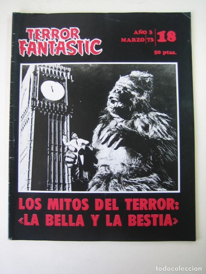 TERROR FANTASTIC (1971, PEDRO YOLDI) 18 · IV-1973 · TERROR FANTASTIC (Cine - Revistas - Otros)