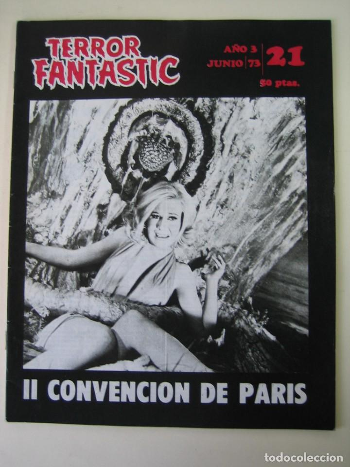 TERROR FANTASTIC (1971, PEDRO YOLDI) 21 · VI-1973 · TERROR FANTASTIC (Cine - Revistas - Otros)