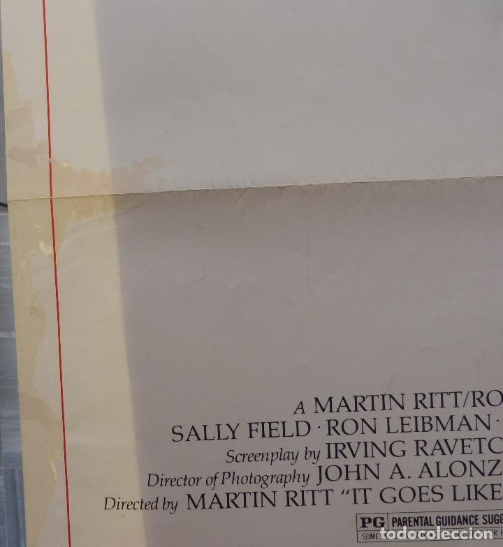 Cine: Poster de la película Norma Rae, 1979, 104 x 69, Original, Estilo B, Sally Field - Foto 4 - 135394962