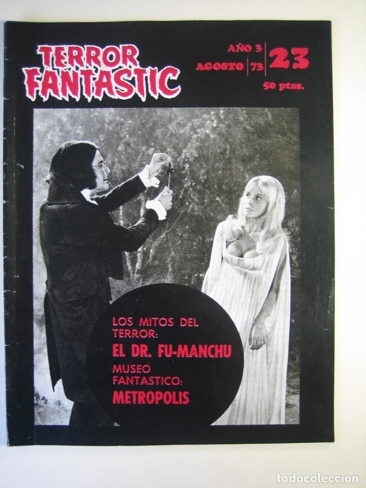 TERROR FANTASTIC (1971, PEDRO YOLDI) 23 · VIII-1973 · TERROR FANTASTIC (Cine - Revistas - Otros)