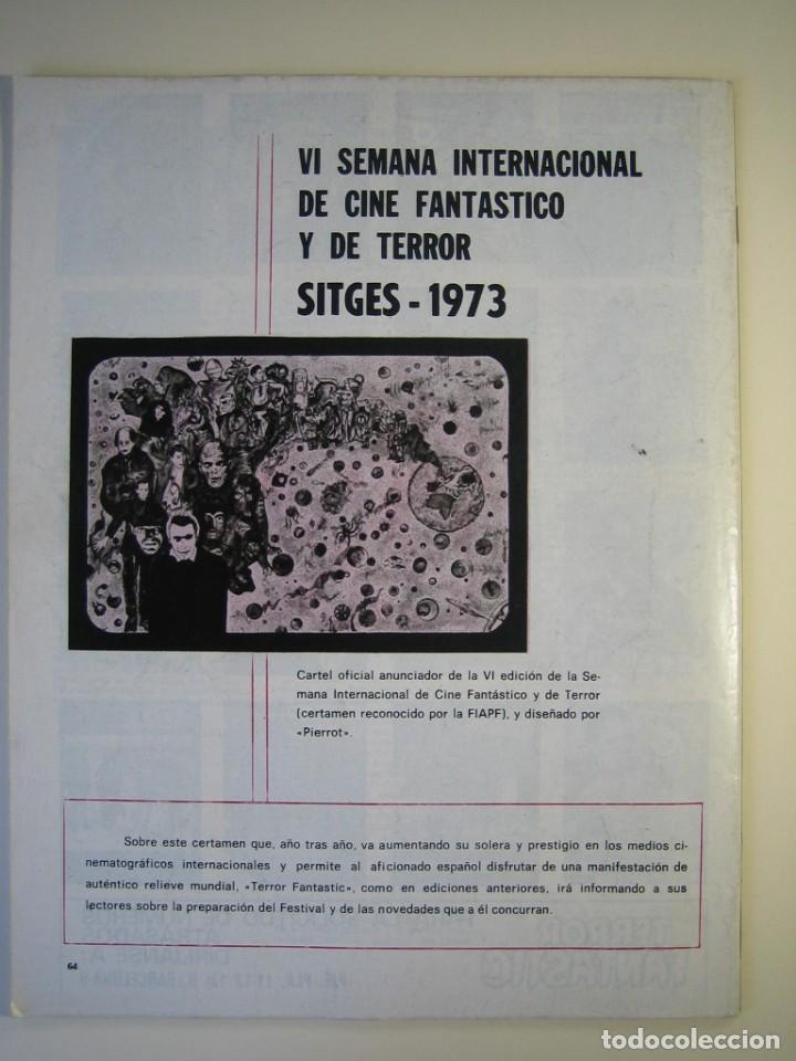 Cine: TERROR FANTASTIC (1971, PEDRO YOLDI) 23 · VIII-1973 · TERROR FANTASTIC - Foto 2 - 135455426