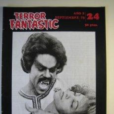 Cine: TERROR FANTASTIC (1971, PEDRO YOLDI) 24 · IX-1973 · TERROR FANTASTIC. Lote 135456458