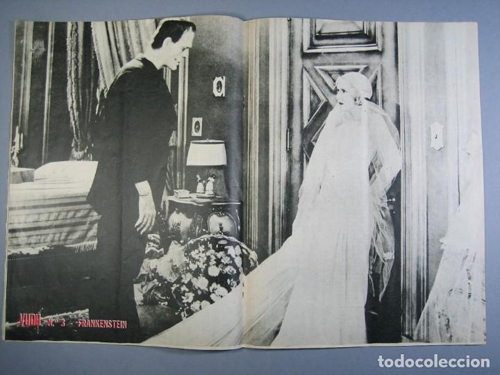Cine: VUDÚ.revista Nº3.POSTER CENTRAL - FRANKESTEIN (1975,GRAFICAS INDUSTRIALES) - Foto 3 - 135462814