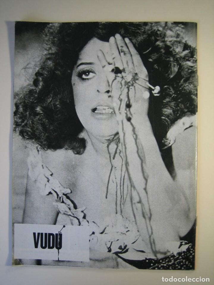 Cine: VUDÚ.revista Nº4.POSTER CENTRAL DRACULA-LUGOSI (1975,GRAFICAS INDUSTRIALES) - Foto 2 - 135463042