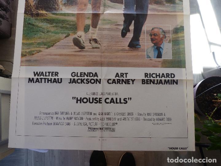 Cine: Póster de la película House Calls, Doblado, Original, 1978, Walter Matthau - Foto 4 - 135504954