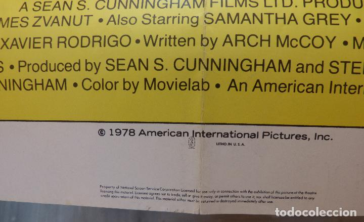 Cine: Póster de la película Here Come the Tigers , 1978 27x 41 pulgadas, original, doblado - Foto 3 - 135505518