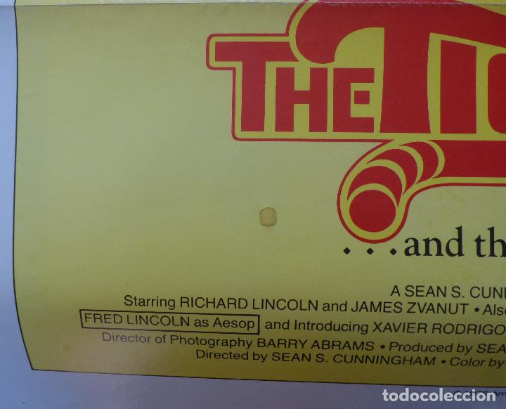 Cine: Póster de la película Here Come the Tigers , 1978 27x 41 pulgadas, original, doblado - Foto 5 - 135505518