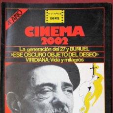 Cine: CINEMA 2002 NÚMERO 37. Lote 135601694